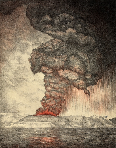 Krakatoa 1883 Eruption